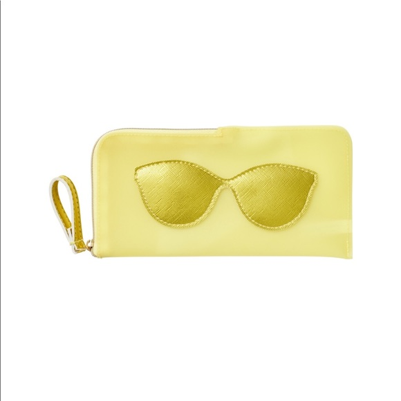 Ulta Beauty Accessories - Ulta sunglasses case. New with tags. Yellow